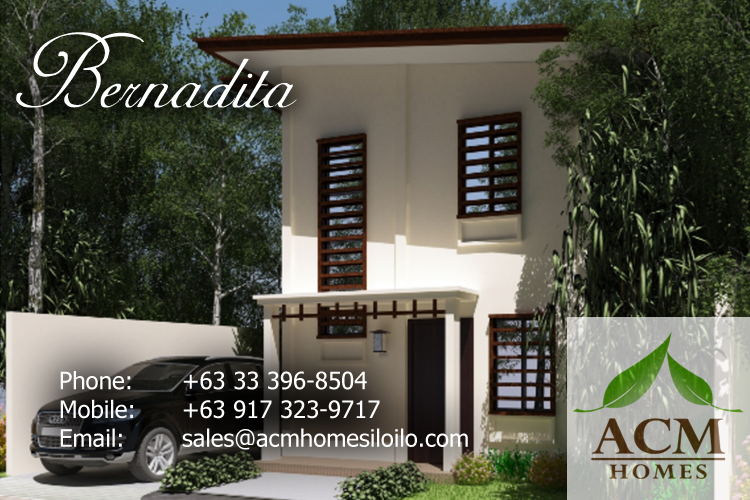 salas real angelina model house acm homes iloilo